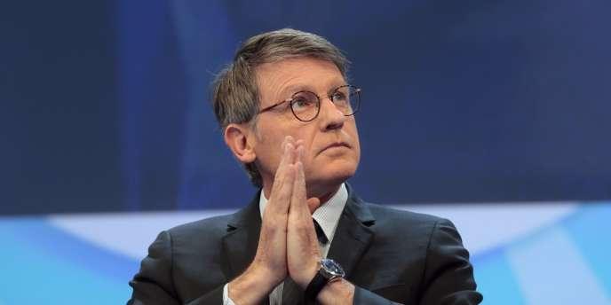 Vincent Peillon, ministre de l'éducation, le 21novembre2013.