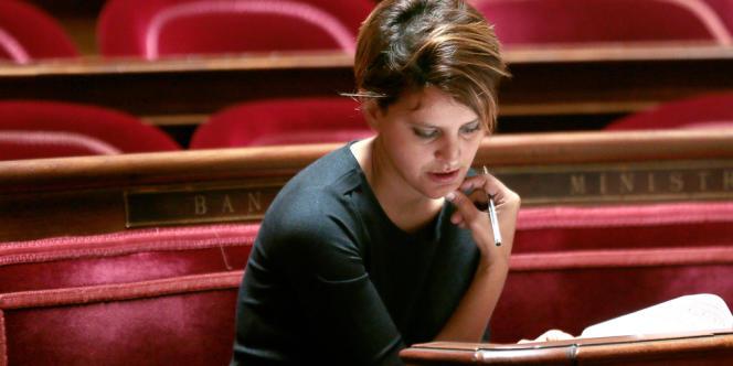 Najat Vallaud-Belkacem, le 16septembre.