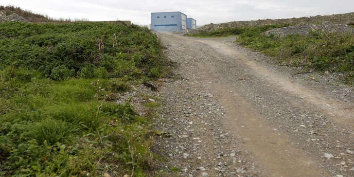 Près de la centrale d'Hinkley Point, le 24 octobre.