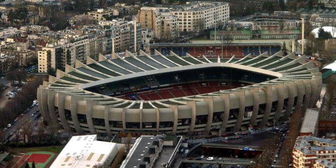 Le Parc des Princes, l'antre du PSG où s'est déroulé le quart de finale aller de la Ligue des champions contre Chelsea.