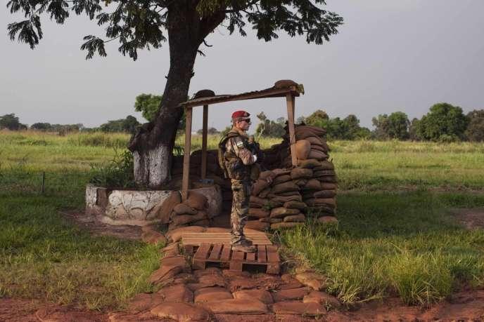 Quelque 410 militaires français sont déployés à Bangui depuis 2002.