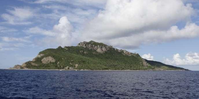 Vue d'un des îlots de l'archipel Senkaku ou Diaoyu, en septembre 2012.