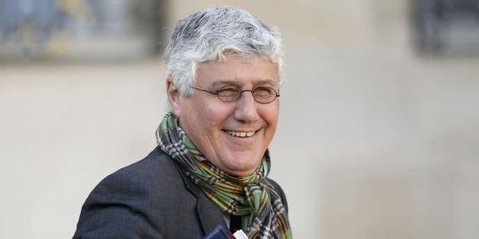 Philippe Martin, le ministre de l'écologie, du développement durable et de l'énergie, quittant l'Elysée le 13 novembre.