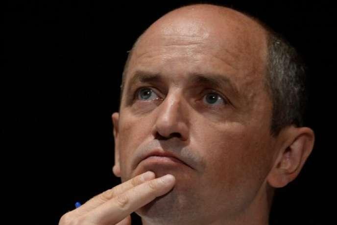 Pierre Larrouturou, pendant l'université d'été du PS en août 2013.