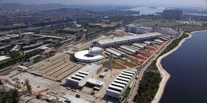 Centre de recherche et de développement Petrobras à Rio, au Brésil.