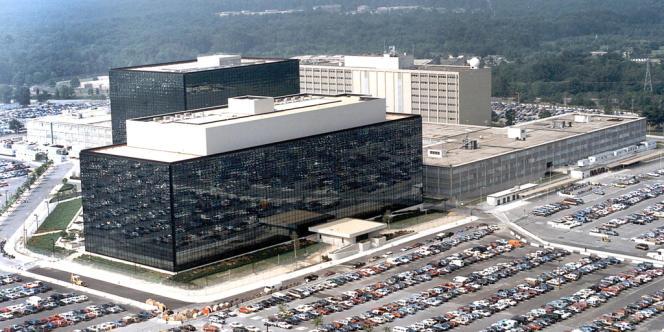Le siège de la NSA, à Fort Meade (Etat du Maryland), en janvier 2006.