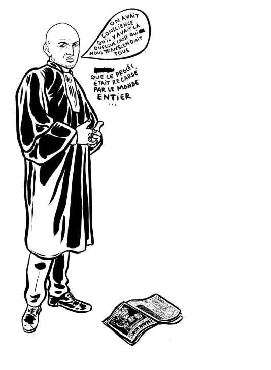 «Nous avions conscience qu'il y avait dans ce débat quelque chose qui nous transcendait tous. Qu'on nous regardait du monde entier», se souvient Richard Malka, avocat depuis des années de «Charlie Hebdo», au sujet du procès des caricatures de Mahomet.