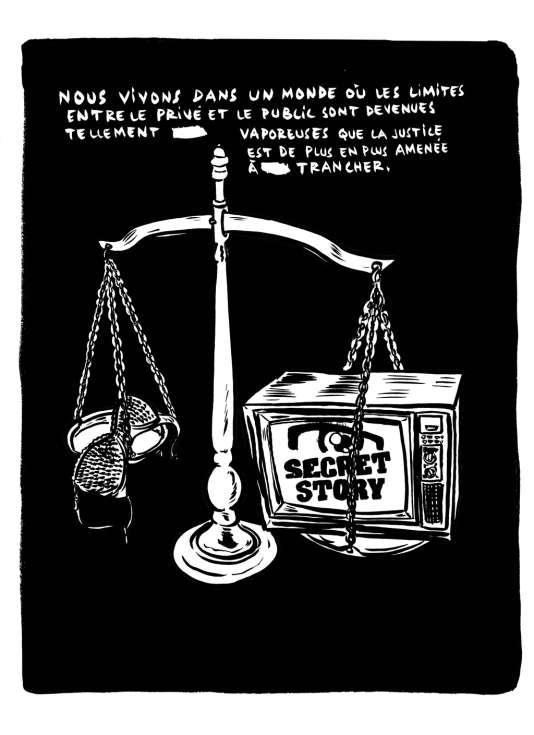 En 2011, le juge Joël Boyer a rendu un jugement de cinq pages, plein de malice, après avoir été saisi en urgence de la plainte d'une starlette de la télé-réalité contre le magazine «Oops!», qui avait publié des images des ébats sexuels de la jeune femme et de son petit ami.