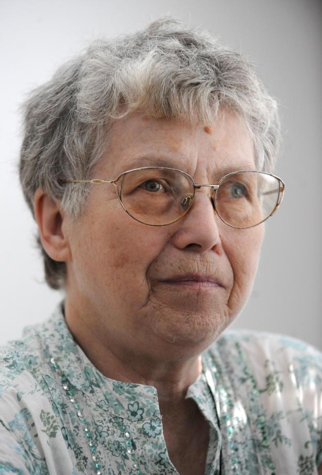 Natalya Gorbanevskaya en mai 2008 à Prague.