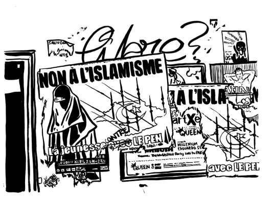 """Si les juges de la 17e chambre considèrent que le droit de critiquer l'islamisme est protégé par la liberté d'expression, ils condamnent Jean-Marie Le Pen lorsqu'il s'en prend avec violence aux """"musulmans"""", ses propos constituant une provocation à la haine raciale """"contre un groupe désigné""""."""