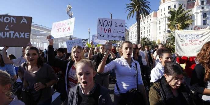 Manifestation contre l'