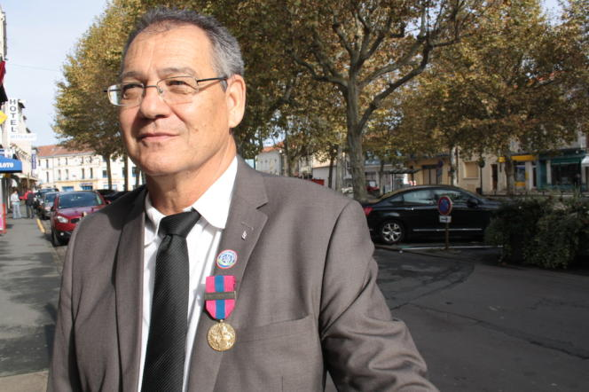 Roger Dubois, candidat du Front national à la mairie de Bergerac.