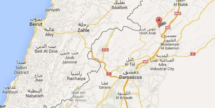 Maaloula, située à 55 km au nord de Damas, compte un grand nombre d'églises et de couvents.