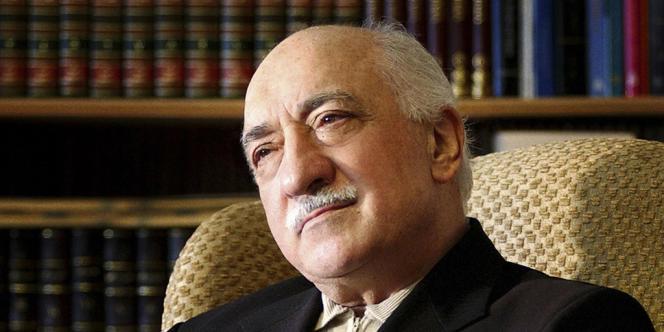 Fethullah Gülen, dans sa résidence de Saylorsburg, en Pennsylvanie, en décembre 2004.