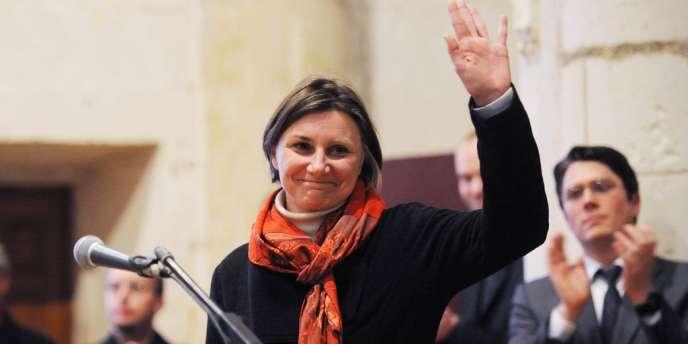 Anne-Laure Jaumouillé le 1er décembre à La Rochelle.