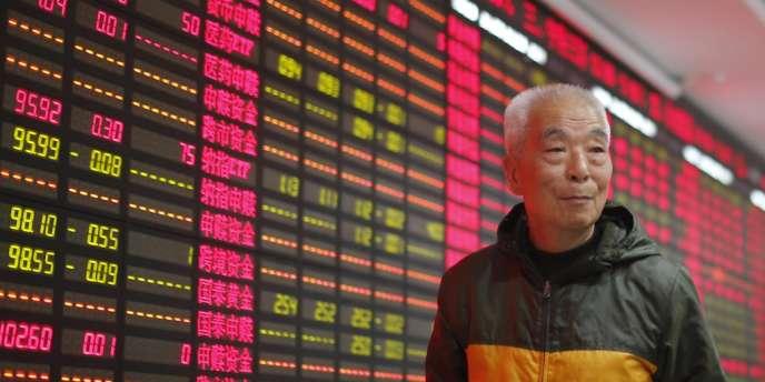 L'indice composite de Shanghaï, premier panier de valeurs du pays qui englobe les poids lourds de l'économie chinoise, a perdu 7 % sur l'ensemble de l'année 2013.
