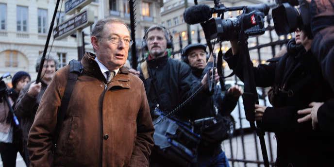 L'ancien coprésident d'EADS, Noël Forgeard, le 23 novembre 2009 à Paris.