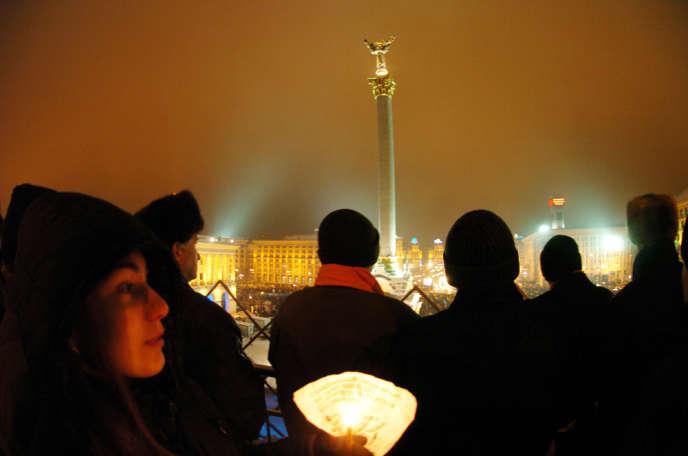A Kiev, le 30 novembre 2004.