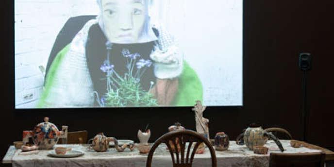 Wantee, de Laure Prouvost, installation présentée à