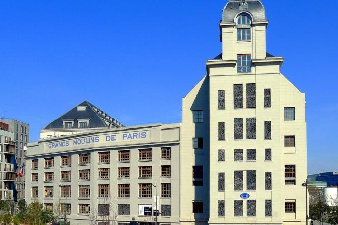 Les anciens grands moulins de Paris.