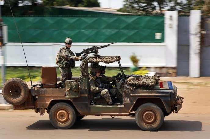 A Bangui, le 5 décembre.