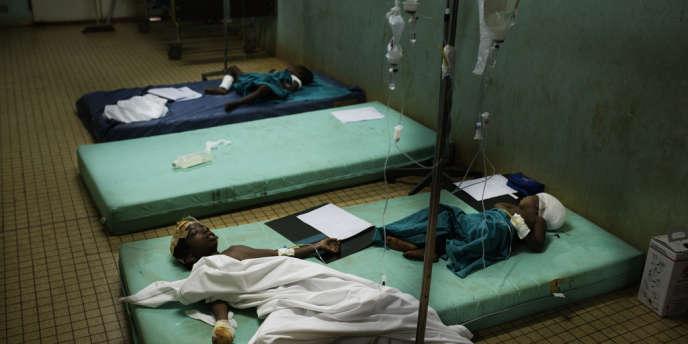 Des enfants de la communauté peule, frappés à coups de machette à Boali, sont hospitalisés à Bangui.