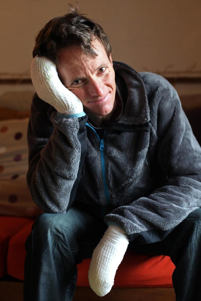 Stéphane Benoist a été amputé des dix orteils et de plusieurs phalanges de la main droite fin novembre