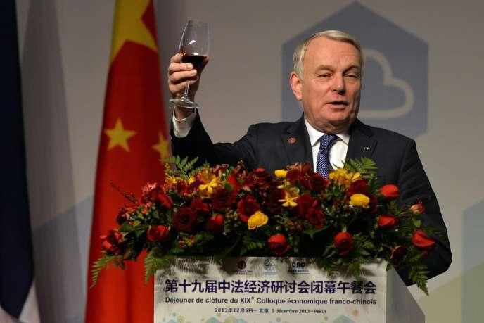 Le premier ministre Jean-Marc Ayrault, jeudi 5 décembre, au premier jour de sa visite en Chine.