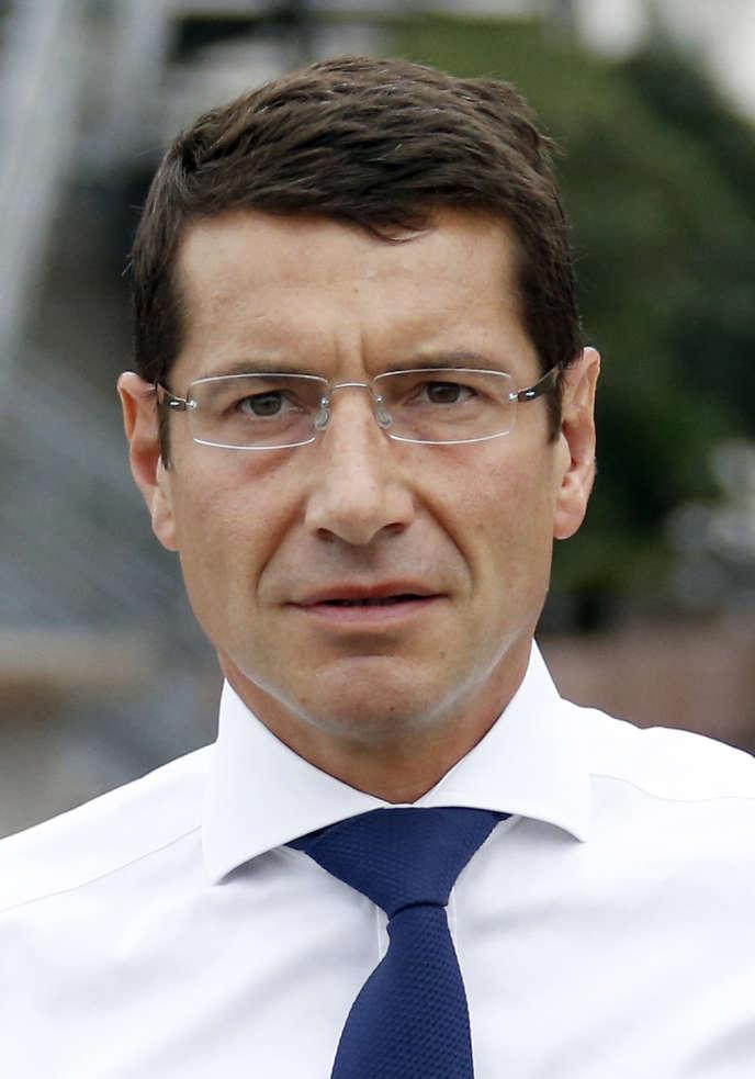 David Lisnard, UMP, candidat à la mairie de Cannes en septembre 2013.