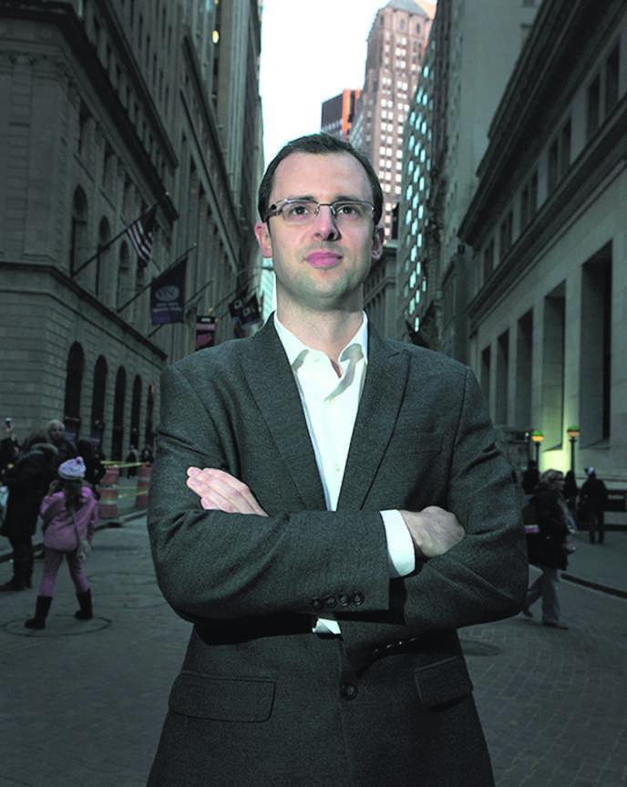 Etienne Uzac, le patron d'IBT Media, le 8 novembre à New York.