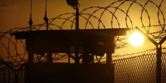 Vue du camp Delta de Guantanamo, le 20 novembre.