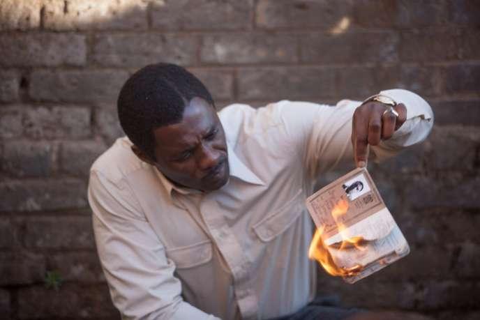 Idris Elba dans le film britannique et sud-africain de Justin Chadwick,