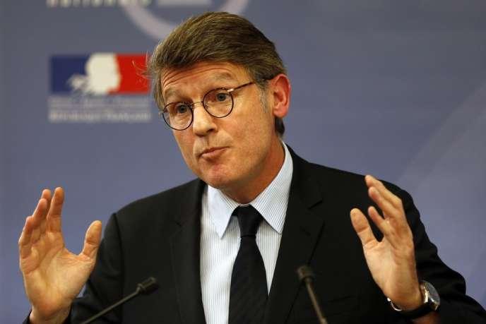 Vincent Peillon, le 3 décembre, à Paris.