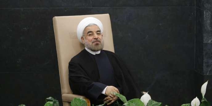 Le président iranien Hassan Rohani à New York, le 24 septembre.