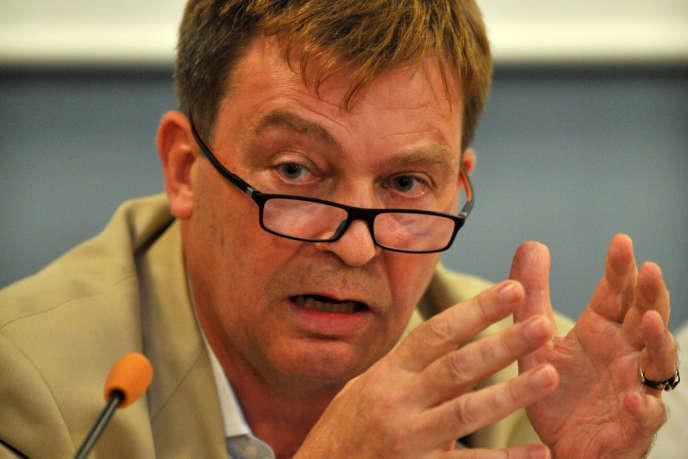 Pierre Henry, le président de France terre d'asile, en 2011.