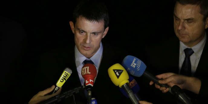 Le ministre de l'intérieur, Manuel Valls, le 21 novembre.
