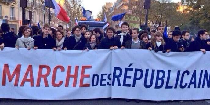 La Marche des républicains, le 8 décembre à Paris.