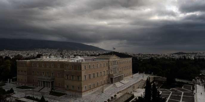 Le Parlement grec, le 2 décembre.