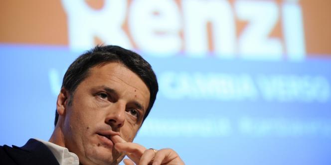 Matteo Renzi, le 6 décembre à Turin.