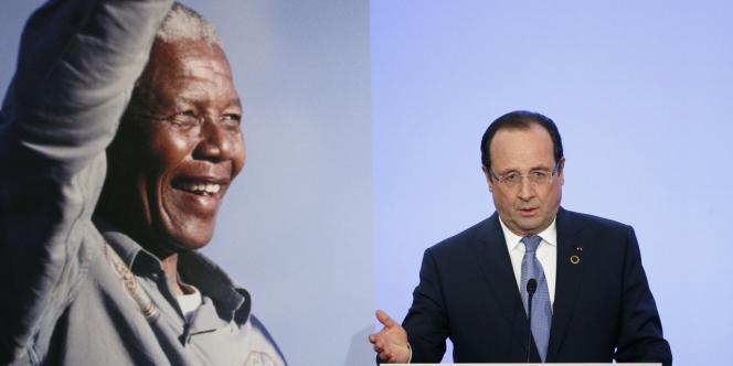 François Hollande lors du sommet à l'Elysée pour la paix et la sécurité en Afrique, le 6 décembre.
