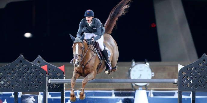Kevin Staut, le 23 novembre à Doha.