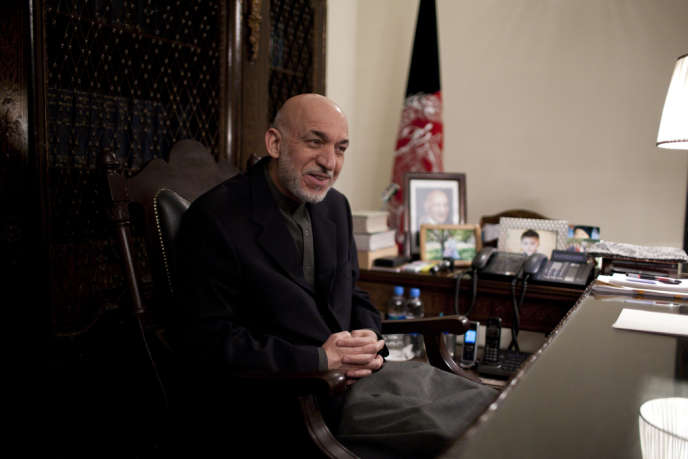 Hamid Karzaï, in Kabul, on the 7th of december.