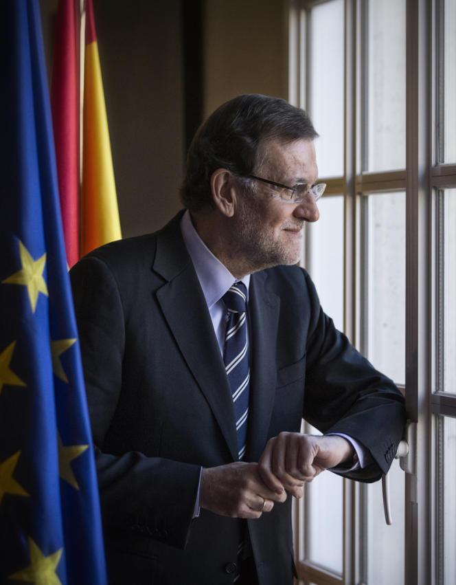 Mariano Rajoy au palais de La Moncloa, le 3 décembre.