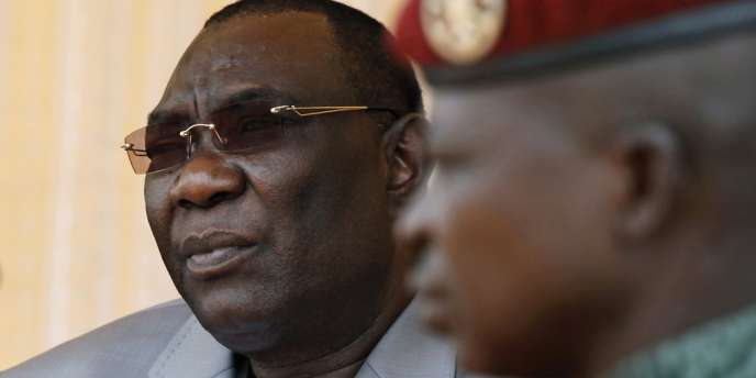 Le président centrafricain Michel Djotodia, le 3 décembre à Bangui.