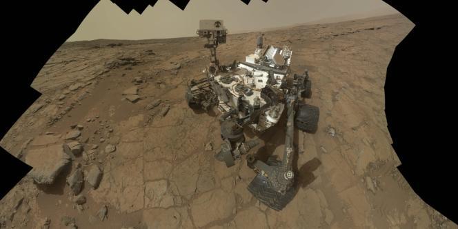 La sonde américaine Curiosity, le 3 février.