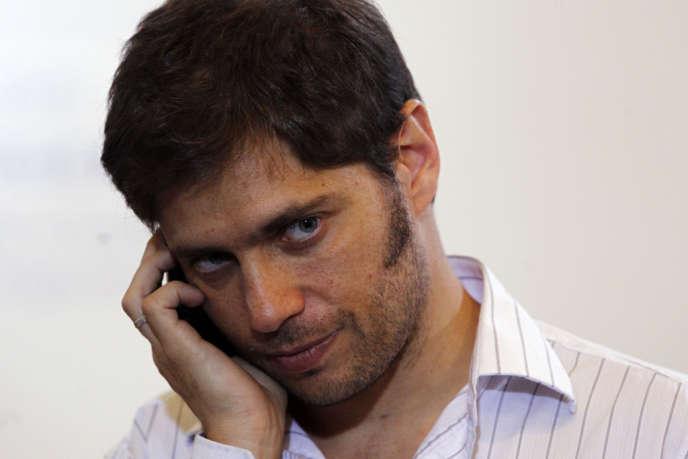 Axel Kiciloff a été nommé ministre de l'économie de l'Argentine par la présidente Cristina Kirchner, le 20 novembre.