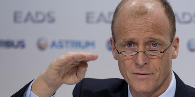 Tom Enders, directeur exécutif du groupe EADS, a dévoilé lors d'un comité d'entreprise européen, lundi 9 décembre, la réorganisation du futur pôle Défense et Espace du groupe.