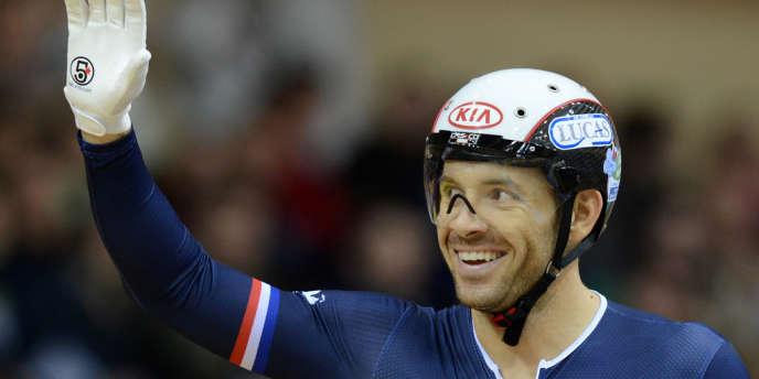 Le nouveau recordman du kilomètre, François Pervis.