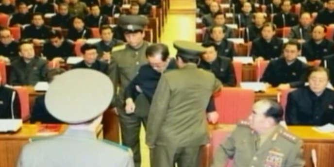 L'arrestation de Jang Song-Thaek.