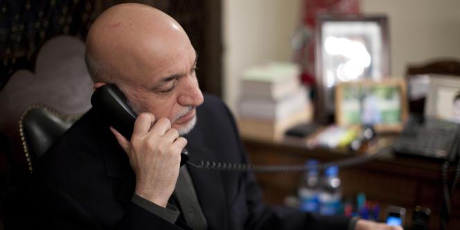 Hamid Karzaï, à Kaboul, le 7 décembre.